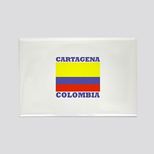 Cartagena, Colombia Rectangle Magnet