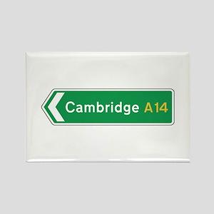 Cambridge Roadmarker, UK Rectangle Magnet