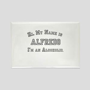 Alfredo Rectangle Magnet