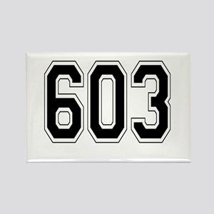 603 Rectangle Magnet