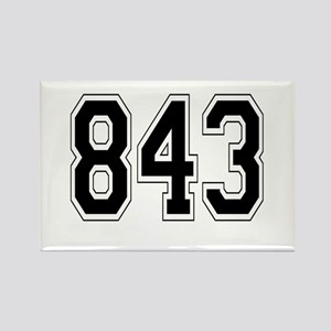 843 Rectangle Magnet