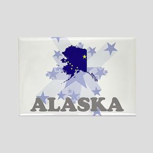 All Star Alaska Rectangle Magnet