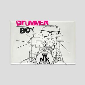 Drummer Boy Rectangle Magnet