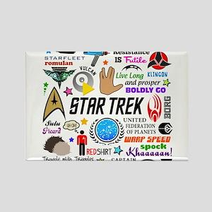 Trekkie Memories Magnets