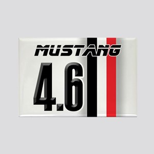 Mustang 4.6 Rectangle Magnet