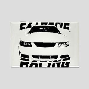 Racing Mustang 99 2004 Rectangle Magnet