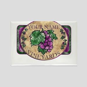 Your Vineyard Rectangle Magnet