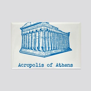 Acropolis of Athens Rectangle Magnet
