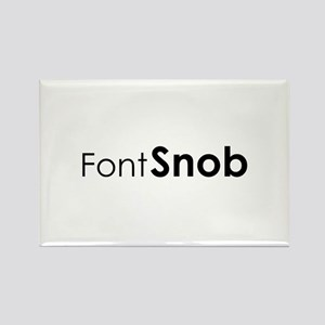 Font Snob Magnets