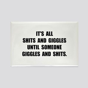 Shits And Giggles Magnets