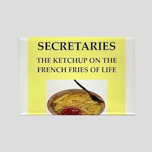 secretary Rectangle Magnet