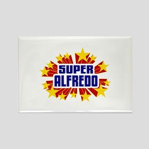 Alfredo the Super Hero Rectangle Magnet