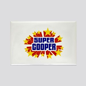 Cooper the Super Hero Rectangle Magnet