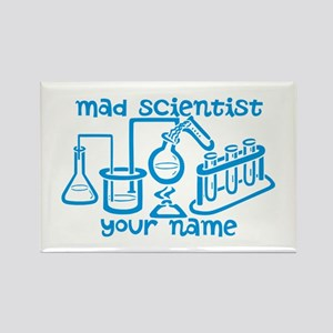 Personalized Mad Scientist Rectangle Magnet