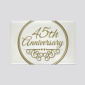 45th Anniversary Magnets