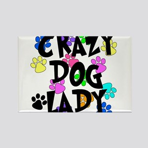 Crazy Dog Lady Magnets