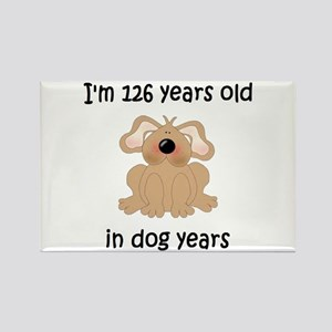18 dog years 5 - 2 Magnets