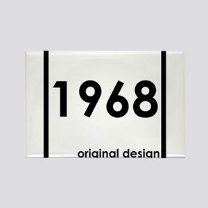 1968 birthday original design year Magnets