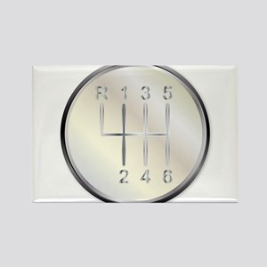 Six Speed Gear Knob Magnets