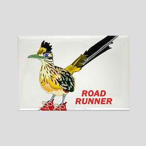 Road Runner in Sneakers Magnets