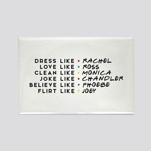 Dress Love Clean Joke Believe Flirt Magnets