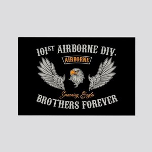 101st Airborne Brothers Rectangle Magnet