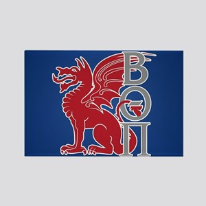 Beta Theta Pi Dragon Letters Magnets