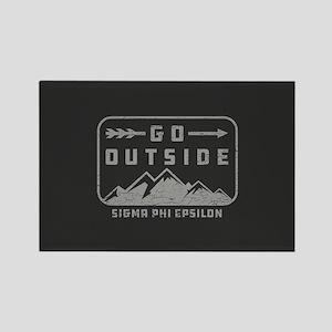 Sigma Phi Epsilon Outside Rectangle Magnet
