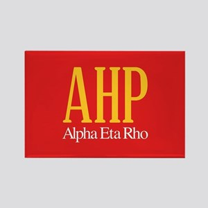 Alpha Eta Rho Letters Rectangle Magnet