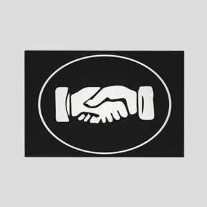 Psi Upsilon Fraternity Hand Symbo Rectangle Magnet