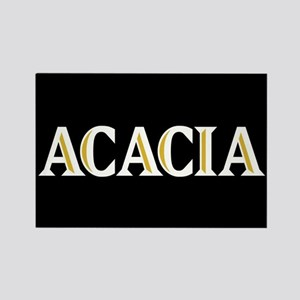 Acacia Greek Rectangle Magnet