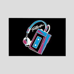 Footloose Cassette Rectangle Magnet