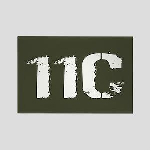 U.S. Army: 11C Mortarman (Militar Rectangle Magnet