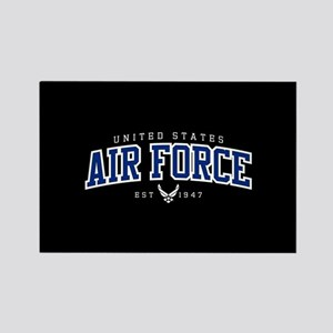 United States Air Force Athletic Rectangle Magnet
