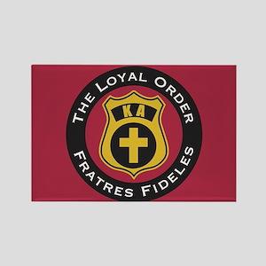 Kappa Alpha The Loyal Order Rectangle Magnet