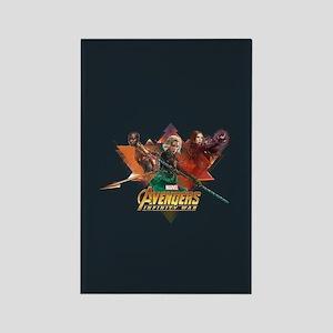 Avengers Infinity War Lineup Rectangle Magnet