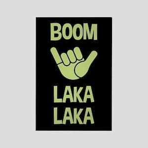 Boom Shaka Wave Rectangle Magnet