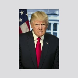 Official Presidential Portrait Rectangle Magnet