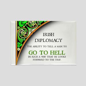 Irish diplomacy Magnets