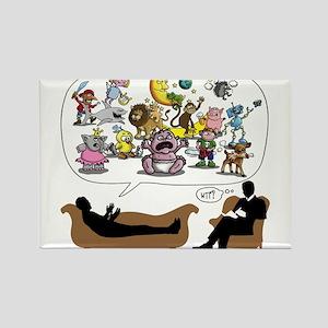 Therapist Psychologist Magnets