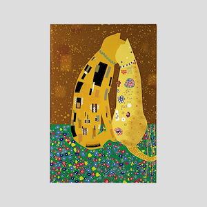 Klimts Kats Rectangle Magnet