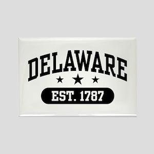 Delaware Est. 1787 Rectangle Magnet