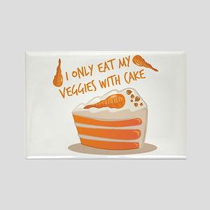 Veggie Cake Magnets