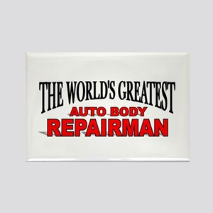 """The World's Greatest Auto Body Repairman"" Rectang"