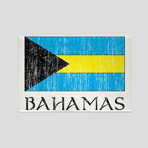 Bahamas Flag Rectangle Magnet