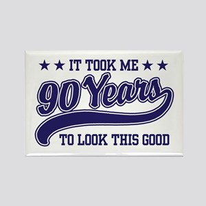 Funny 90th Birthday Rectangle Magnet