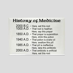 History of Medicine Rectangle Magnet