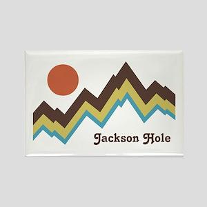 Jackson Hole Rectangle Magnet