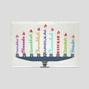 Spelling Chanukah 2 Magnets