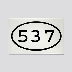 537 Oval Rectangle Magnet